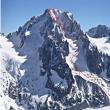 versant S de la pointe W de l'Aiguille d'Argentière